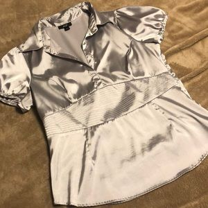 AGB Sexy Fitted Blouse